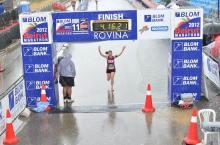 Assia Yassine Finishing the Race