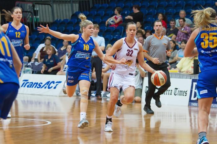 Canberra Capitals vs Logan Thunder 6 - Australian Institute of Sport Training Hall