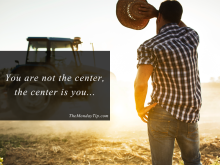 The Center is you