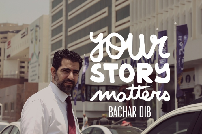Your Story Matters... By Bachar Dib